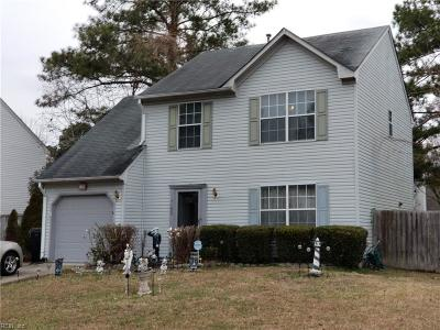 Virginia Beach Single Family Home New Listing: 1193 Mondrian Loop