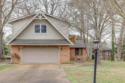 Suffolk Single Family Home New Listing: 4051 Sadler Dr