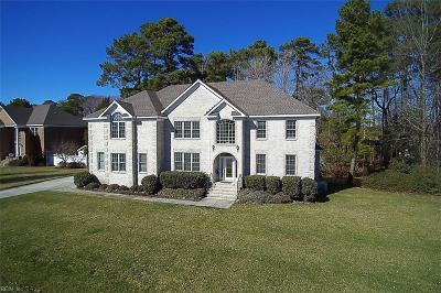 Virginia Beach Single Family Home New Listing: 2212 Rose Hall Dr