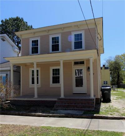 Suffolk Single Family Home New Listing: 217 Pearl St