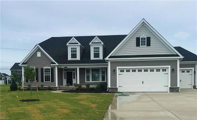 Chesapeake Single Family Home Under Contract: 628 Ackerman Ln