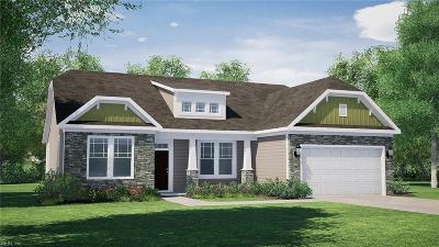 Virginia Beach Single Family Home New Listing: Mm Everly (Kingston Estates)