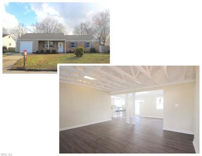 Virginia Beach Single Family Home New Listing: 2921 Guther Pl