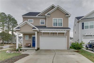Virginia Beach Single Family Home New Listing: 4312 Danali Ln