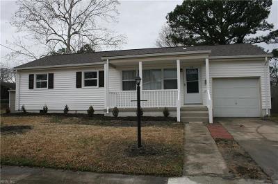 Norfolk Single Family Home New Listing: 2705 Alder St
