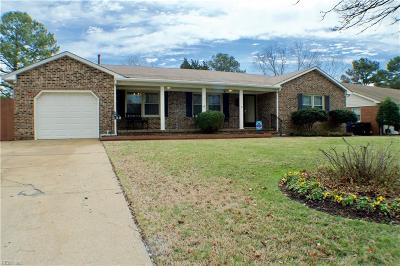 Virginia Beach Single Family Home New Listing: 332 S Newtown Rd