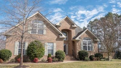 Virginia Beach Single Family Home New Listing: 3804 Bridlewood Ct
