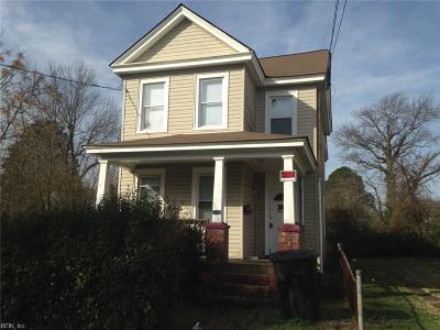 Portsmouth Single Family Home New Listing: 2318 Lansing Ave