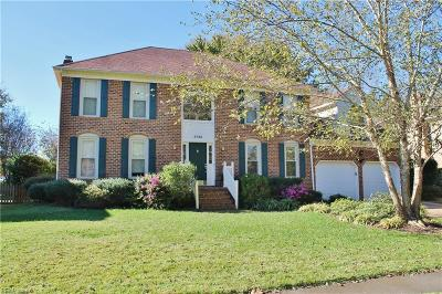 Virginia Beach Single Family Home New Listing: 2733 Cantwell Rd