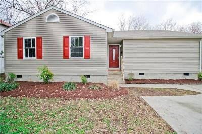 Hampton Single Family Home New Listing: 1123 West Ave