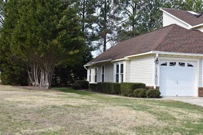 Chesapeake Single Family Home New Listing: 1307 Fairways Lookout #A