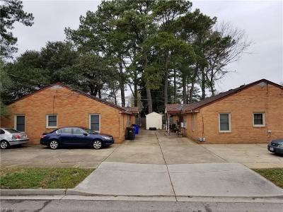 Norfolk Single Family Home New Listing: 9103 Hammett Ave