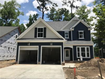 Virginia Beach Single Family Home Under Contract: 2320 Rod Pocceschi Way