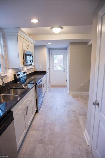 Norfolk Single Family Home New Listing: 3552 Seay Ave