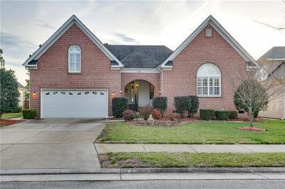 Virginia Beach Single Family Home New Listing: 2717 Longworth Ct