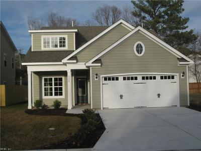 Virginia Beach Single Family Home New Listing: Mm Archway At The Vineyard