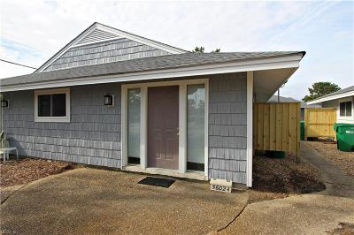 Virginia Beach Single Family Home New Listing: 5602 Atlantic Ave #A