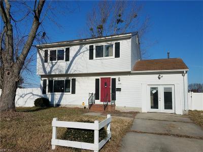 Hampton Single Family Home New Listing: 1810 Mehren Ct