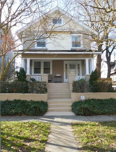 Norfolk Single Family Home New Listing: 715 Michigan Ave