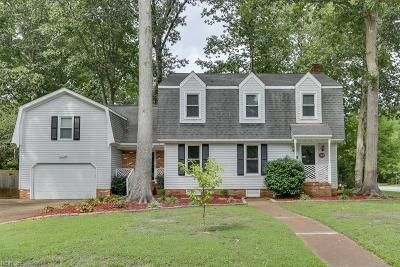 Virginia Beach Single Family Home New Listing: 2216 Sandy Woods Lane Ln