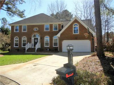 Chesapeake Single Family Home New Listing: 816 Spruce Forest Ct