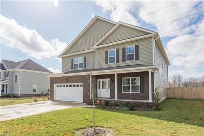 Chesapeake Single Family Home New Listing: 832 Corona Ln