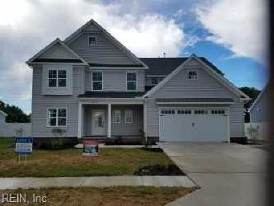 Chesapeake Single Family Home New Listing: 1836 Carrera Rdg