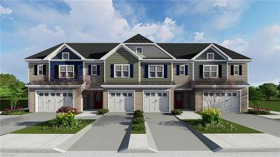 Virginia Beach Single Family Home New Listing: Mm Egret At Lakecrest At Harris Farm