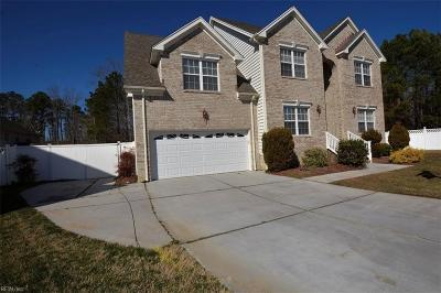 Virginia Beach Single Family Home New Listing: 3808 Spiceberry Ct