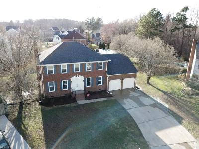 Chesapeake Single Family Home New Listing: 820 Cedarwood Ct
