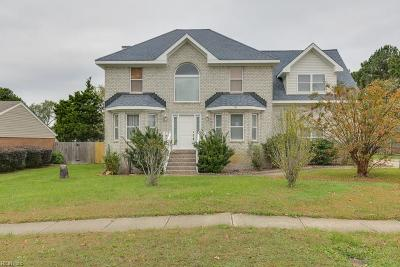 Virginia Beach Single Family Home New Listing: 797 Timberlake Dr