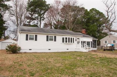 Virginia Beach Single Family Home New Listing: 213 Greenwood Ln