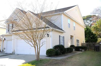 Virginia Beach Single Family Home New Listing: 307 Garcia Dr
