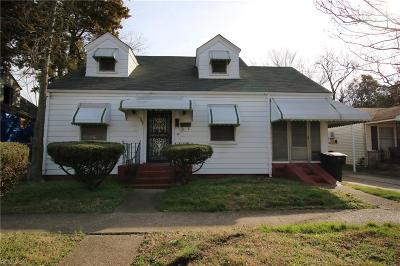 Portsmouth Single Family Home New Listing: 1507 Richmond Ave