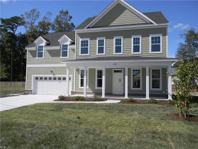 Chesapeake Single Family Home Under Contract: 804 Obsidian Ct