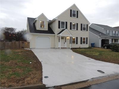 Virginia Beach Single Family Home New Listing: 5516 Port Hudson Ct