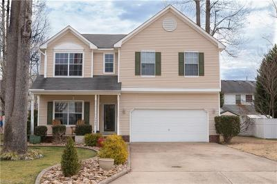 Suffolk Single Family Home New Listing: 3605 Cavaletti Chse