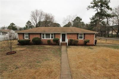 Chesapeake Single Family Home New Listing: 4000 Pinta Dr