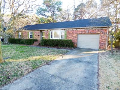 Portsmouth Single Family Home New Listing: 4413 Wise Road