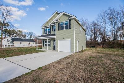 Chesapeake Single Family Home New Listing: 1209 Keats St