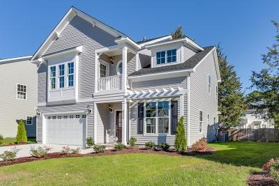 Virginia Beach Single Family Home New Listing: Mm Benjamin At The Vineyard