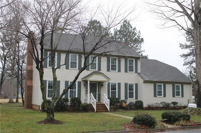 Chesapeake Single Family Home New Listing: 509 San Pedro Dr