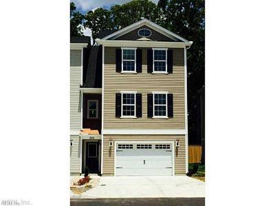 Virginia Beach Single Family Home New Listing: 926 13th St