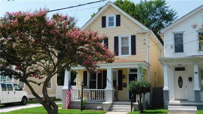 Norfolk Single Family Home New Listing: 945 Marshall Ave