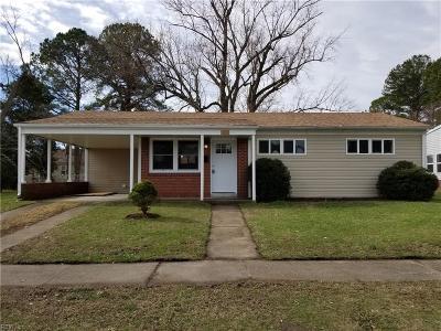 Portsmouth Single Family Home New Listing: 107 Marlboro Rd