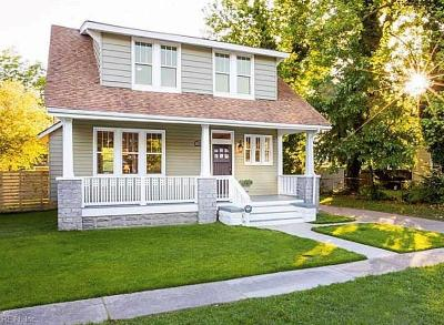 Norfolk Single Family Home New Listing: 1559 Halstead Ave
