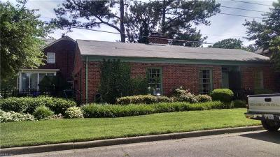 Portsmouth Single Family Home New Listing: 601 Craford Pl