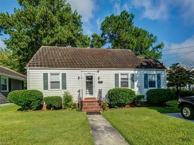 Portsmouth Single Family Home New Listing: 2012 Colorado Ave