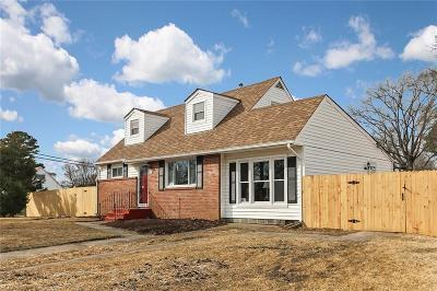 Virginia Beach Single Family Home New Listing: 1037 Hunting Hill Dr