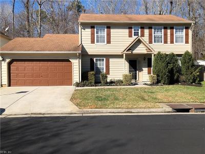 Virginia Beach Single Family Home New Listing: 3132 Guardhouse Cir